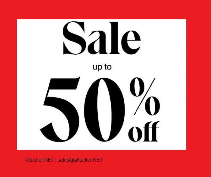 Attacker.NET 50% End of Year Promotion